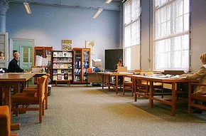 The Archive of Art and Design public study room, Blythe House
