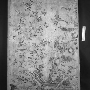 Flowering Plants and Birds wallpaper, Museum no. E.2083-1914