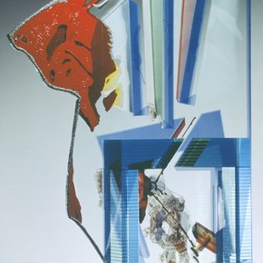 'Gate' by Bohumil Elias, 1996, Museum no. C.113-1998