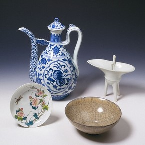 Objects bought in Peking by Stephan Bushell. Museum no. 109-1883