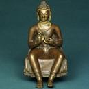 Dharmachakra, Preaching Buddha, Nepal 10th/11th century, (Preaching). Museum no. IS.37-1988