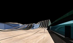 Strasbourg Mosque, Zaha Hadid Architects, 2000. © Zaha Hadid Architects