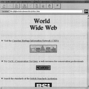world-wide web screenshot