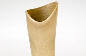 Flared & waisted tube form, Steve Howlett, 2005