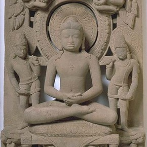 Rishabhanatha, sculpture, 9th century. Museum no. IS.12-1996