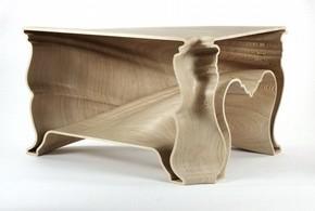 Cinderella Table, Jeroen Verhoeven, 2005. Museum no. W.1-2006