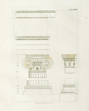 Antiquities of Athens, vol 2, James Stuart and Nicholas Revett, about 1790. Courtesy of the Library, The Bard Graduate Center for Studies in the Decorative Arts, Design, and Culture, New York, © BGC / Bruce White