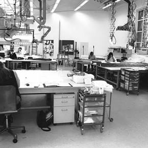 The new Textiles Studio. Photography by V