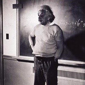 Albert Einstein, by Lucien Aigner, Princeton University 1941, Museum no. E.267-2003, Given by John and Judith Hillelson  Lucien Aigner Trust
