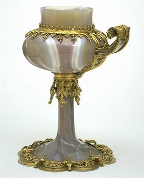 Cup, Germany, 19th century in the style of around 1475. Museum no. 389-1854