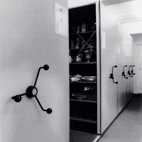 Fig.2. The Ceramics Storage Area. Reproduced with permission from the Ulster Museum.