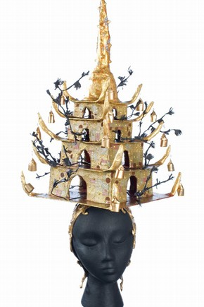 'The Pagoda Hat', Ofelia Diaz, Inspired by 2008