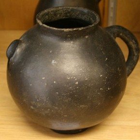Earthenware pot, unknown, 19th century. Museum no. 4297-1901