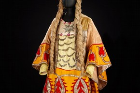 Costume for Sea Princess in Adolph Bolms ballet 'Sadko,' Diaghilev Ballets Russes, 1916 Museum no. S.741 - 1980