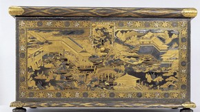 The Mazarin Chest, Japan, c. 1640. Museum no 2-1882