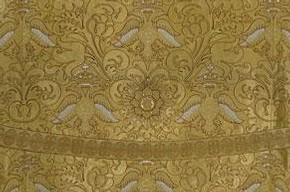 Gold thread woven phelonion, 1896, A. & V. Sapozhnikovy, Museum no.TK-161, © The Moscow Kremlin Museums