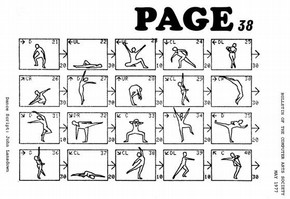 Cover of 'Page' issue 38, 1977. Courtesy of the Computer Arts Society, London
