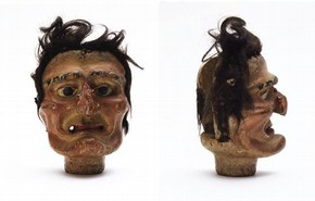 Mother Shipton's head, Clowes Excelsior Troupe, 19th century, Museum No. S.421-2001