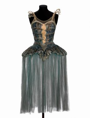 Costume for an attendant on the Queen of the Waters in Frederick Ashtons ballet 'Homage to the Queen',designed by Oliver Hilary Sambourne Messel, London, 1953. Museum no. S.648-1981