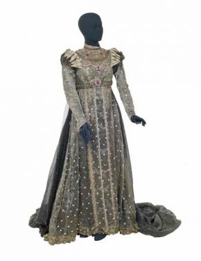 Costume for Berta in Act III of Frederick Ashton's ballet 'Ondine', designed by Lila de Nobili, Royal Opera House, Covent Garden, London, 1958. Museum no. S.1643-1982