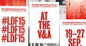 London Design Festival at the V&A 2015