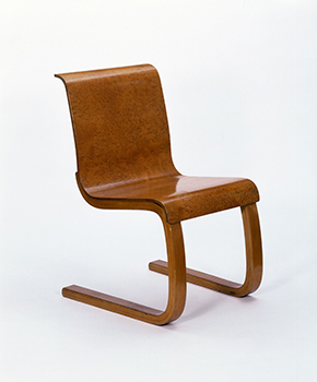 Chair by Alvar Aalto, Finland, 1932-33.