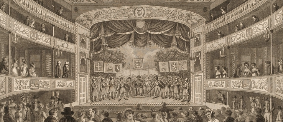 19th century theatre set design