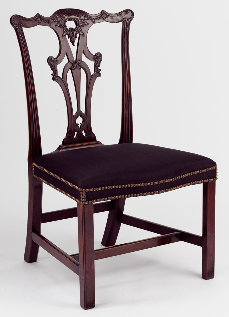 Georgian furniture characteristics - Chair 1765 70 Made By An Unknown Cabinet Maker After A Design By Thomas Chippendale Britain Museum No W 67 1940