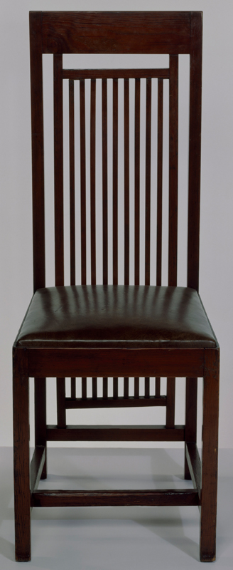 Chair From The Isobel Roberts House, Designed By Frank Lloyd Wright, 1908.  Museum No. W.11 1982