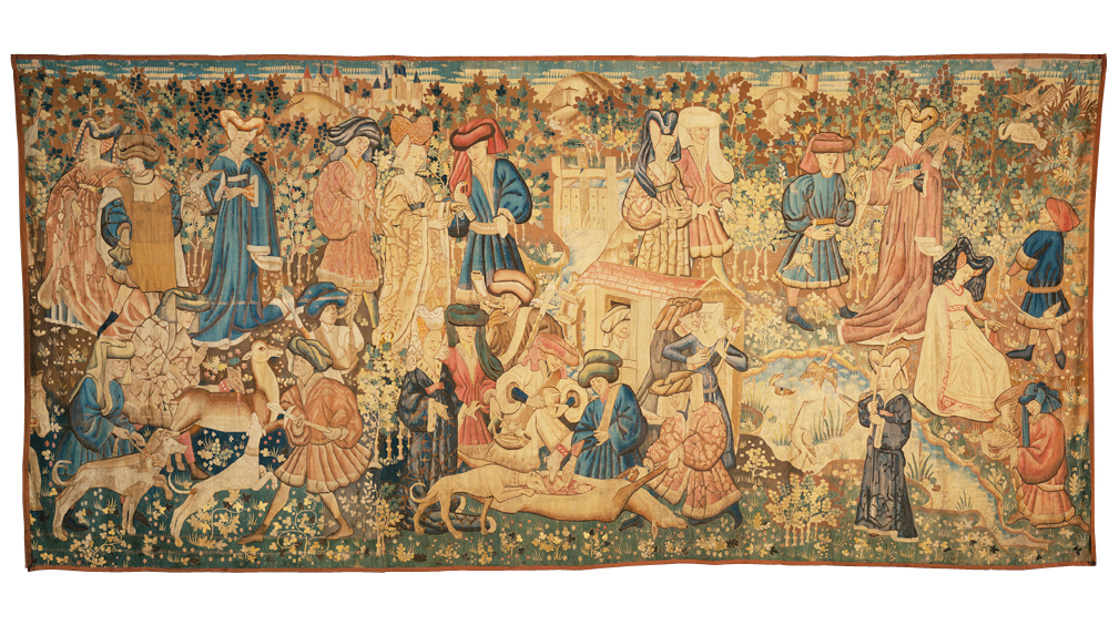 The Devonshire Hunting Tapestries Victoria And Albert Museum