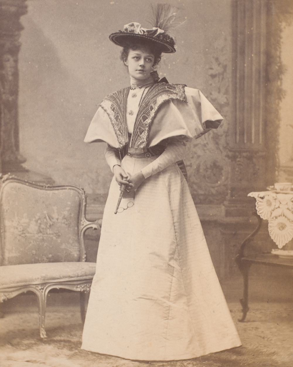 the importance of being earnest costume design victoria and  irene vanbrugh as gwendolen fairfax the importance of being earnest by alfred ellis publicity photograph from the first production london 1895
