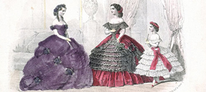 Corsets & Crinolines in Victorian Fashion