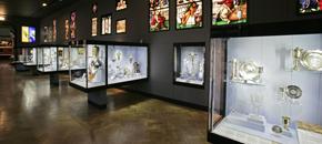 Refurbishment of the silver galleries, 2002
