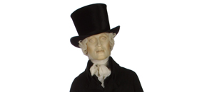 Interactive: Man's Black Wool Suit, by Unknown Maker, 1800-17