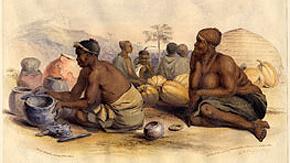 Four Zulu Pots