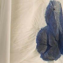 Detail of Shibori technique used on a kimono, Yohji Yamamoto, Autumn/Winter 1994-5.  Courtesy of Alessandro Ciampi