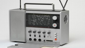 Braun T 1000 Weltempfaenger radio, Dieter Rams, 1963. Museum no. W.12:1 to 3-2007