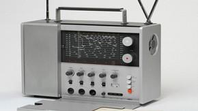 Braun T 1000 Weltempfaenger radio, Dieter Rams, 1963. Museum no. W.12:1 to 3-2007