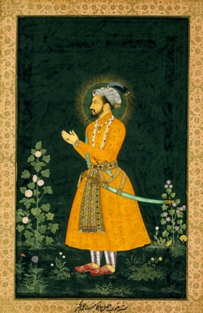 Portrait of The Emperor Shah Jahan (1627-58), 1630. Museum no. IM.17-1925