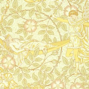 'The Sleeping Beauty', wallpaper, 1879. Museum no. E.60-1968