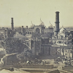 Ranjit Singh's tomb, unknown photographer, Lahore, 1860-1870. Museum no. 2469-1900