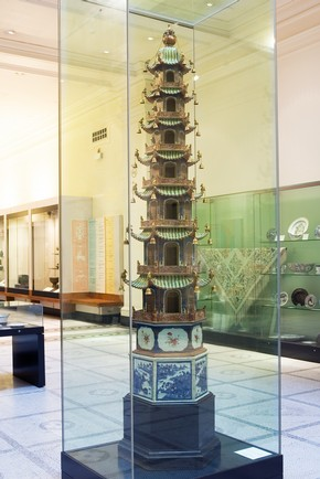 Chinese Pagoda, Qing Dynasty, 1800-15. Museum no. C.80-1954