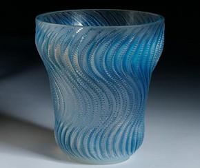 'Actinia' Vase, René Lalique, 1934. Museum no. Circ.769-1969