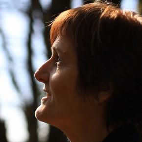 Susan Derges, photographer.