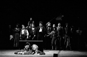 Figure 2 - Les Miserables, Royal Shakespeare Company, October 1985, costume designer Andreane Neofitou. Photograph by Douglas H. Jeffery
