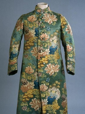 Figure 5 - Banyan, France, 1735-40, cut about 1780, silk. Royal Ontario Museum, Toronto, inv. no. 909.33.1