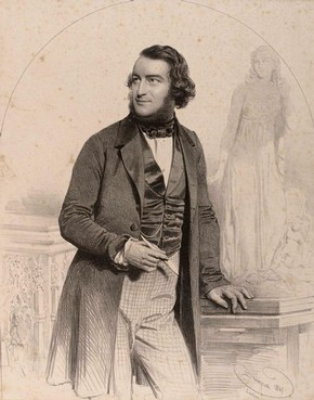 Figure 15 - Engraving of John Thomas in Sketches and Drawings by John Thomas, Volume 1 (RIBA, 1)