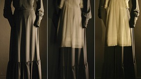 'Pepper's Ghost' for the exhibition Spectres: When Fashion Turns Back, 2004. Photography by Ronald Stoops