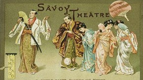 Theatre programme, 14 March 1885. Museum no. theatremuseum-1885