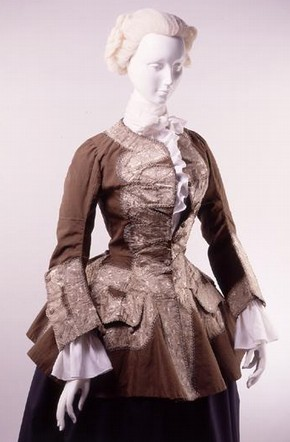 Riding jacket, 1750s, Museum no. T.554-1993